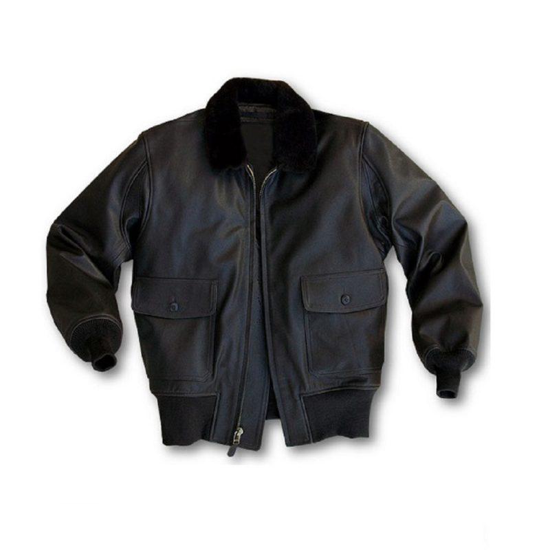 Mens Hand Pianted Navy G-1 Jacket-
