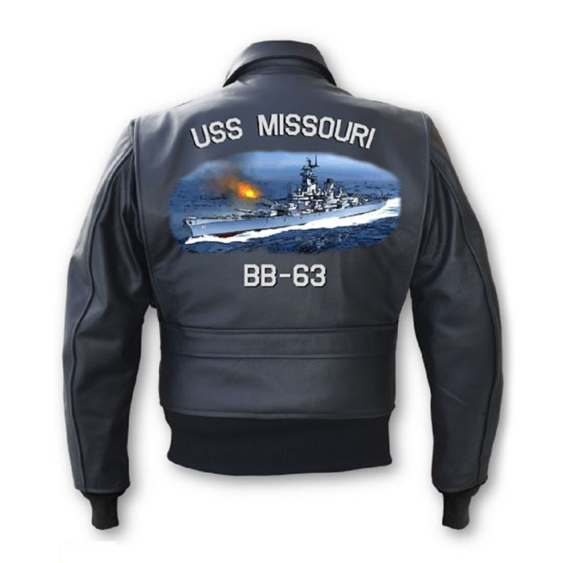 Mens Hand painted naval SWO Jacket-