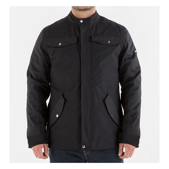 Men's-Logan-Textile-Black-Jacket