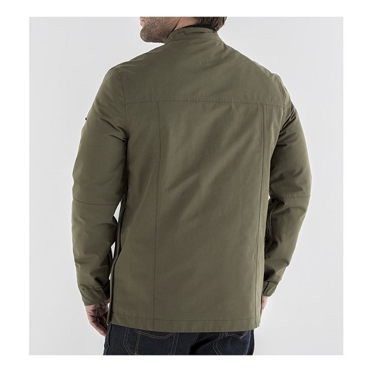 Men's-Logan-Textile-Brown-Jacket-