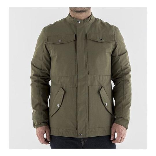 Men's-Logan-Textile-Brown-Jacket