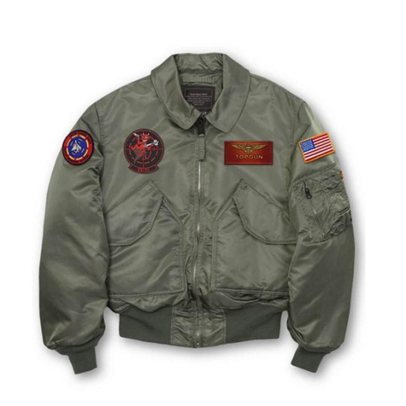 Mens Maverick CWU-45P Top Gun Jacket