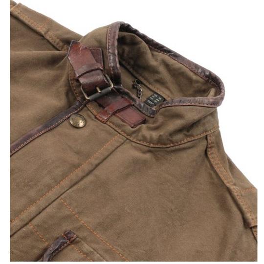 Mens Mountain Brown Journey Field Jackets-