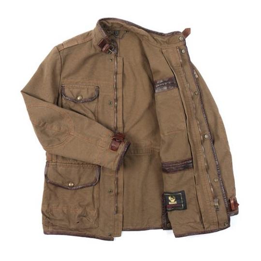 Mens Mountain Brown Journey Field Jackets