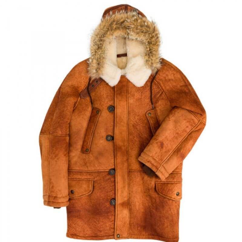 Men's N3B Sheepskin Parka Jackets
