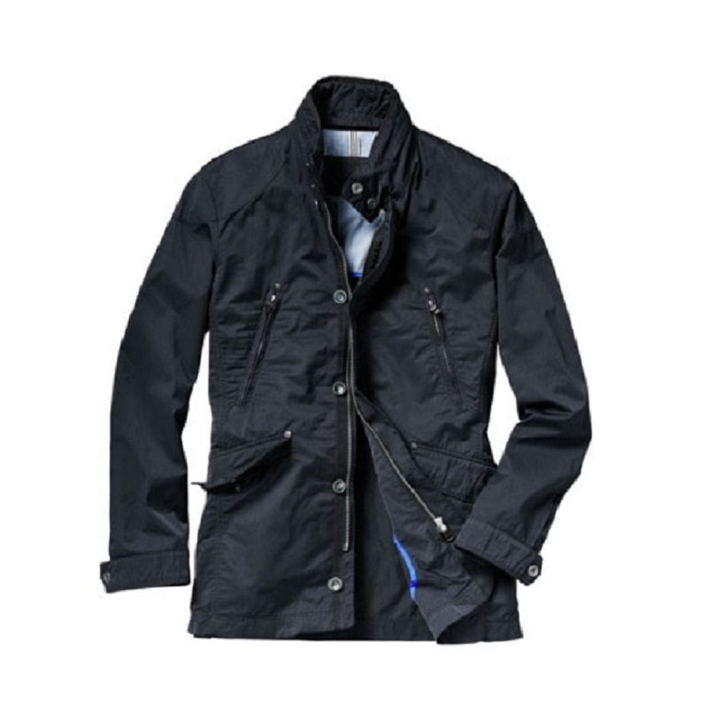Mens New Classic Blue Cotton Field Jacket