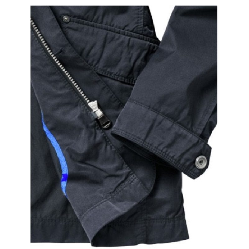 Mens New Classic Blue Cotton Field Jackets-