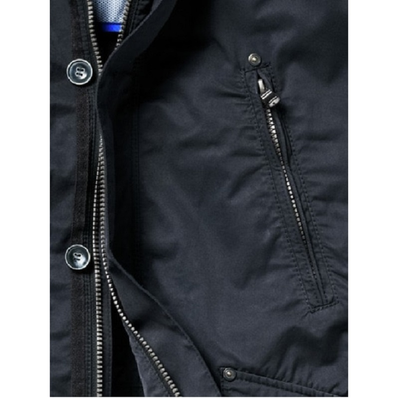 Mens New Classic Blue Cotton Field Jackets