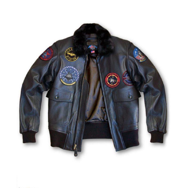 Mens Top Gun G-1 Bomber Jacket