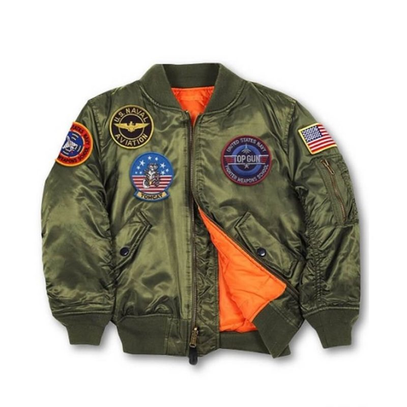 Mens Top Gun MA-1 Jacket