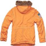 Men's Vintage Explorer Orange Parka