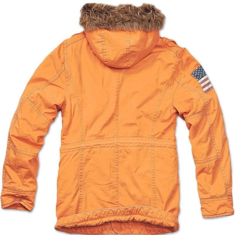 Men's Vintage Explorer Orange Parka-