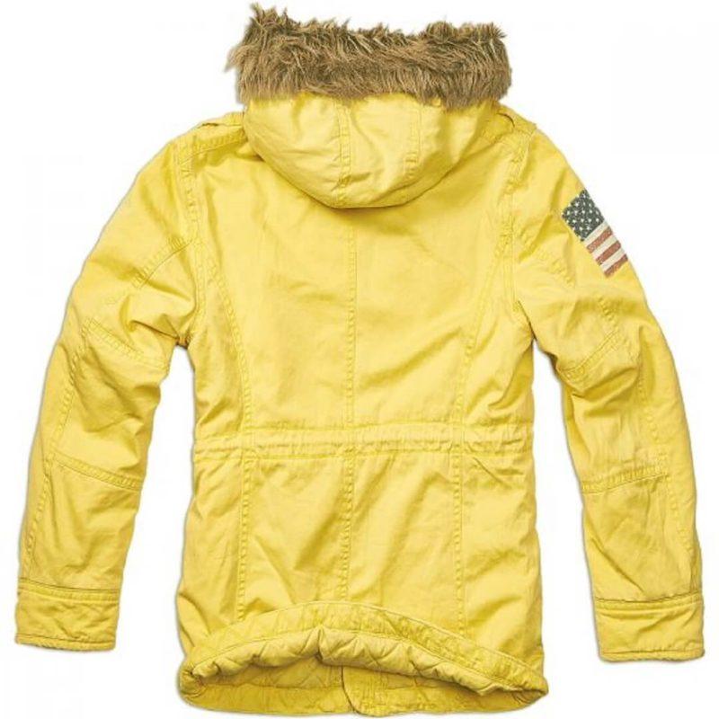 Men's Vintage Explorer Yellow Parka-