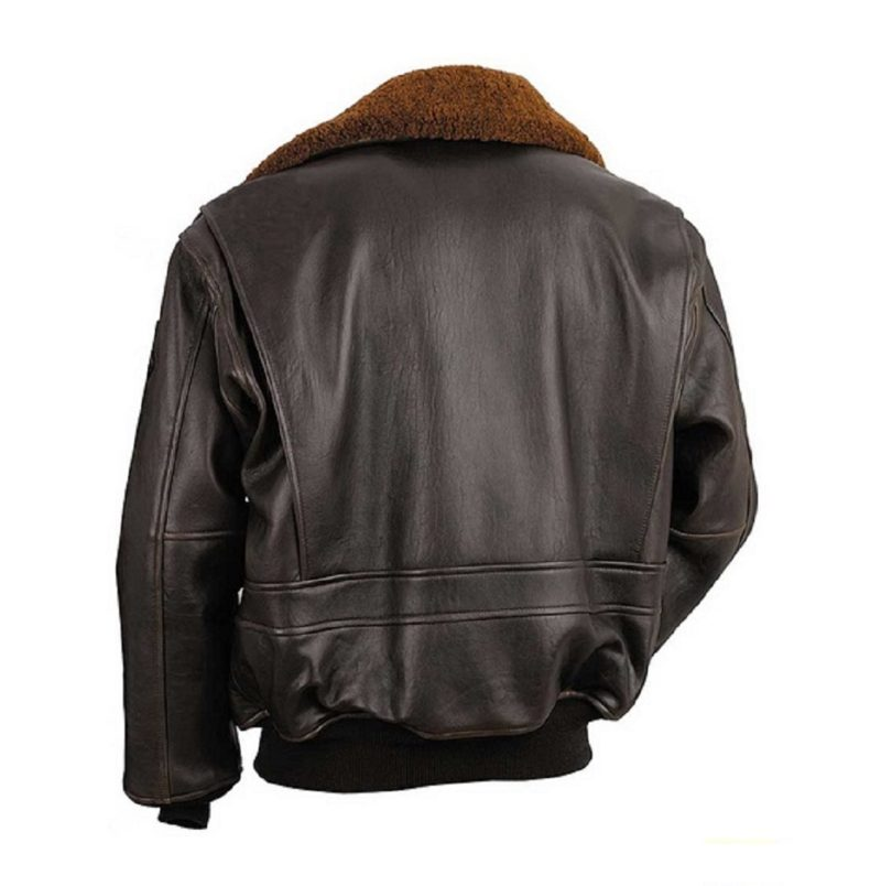 Mens Wings of gold leather jacket-