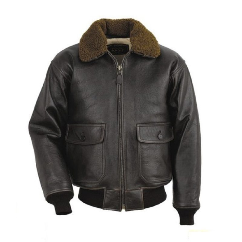 Mens Wings of gold leather jacket