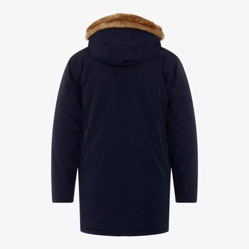 Men's Woodside Navy Blue Parka Jacket-