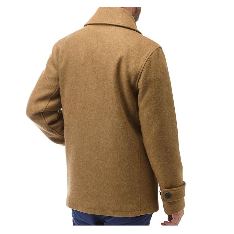 Men's Wool Naval Khaki Peacoat-