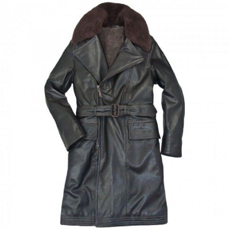 Mens-long-trench-Shearling-Coat