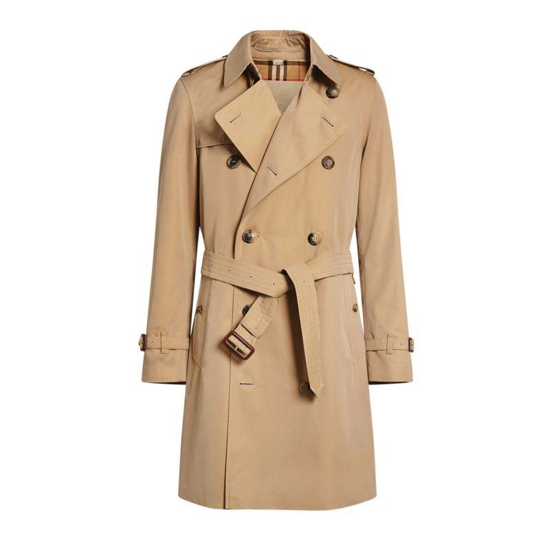 Mens mid-Length Chelsea trench coat