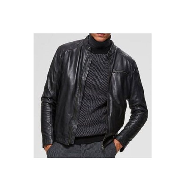 Motorcycle Lambskin Leather Jackets