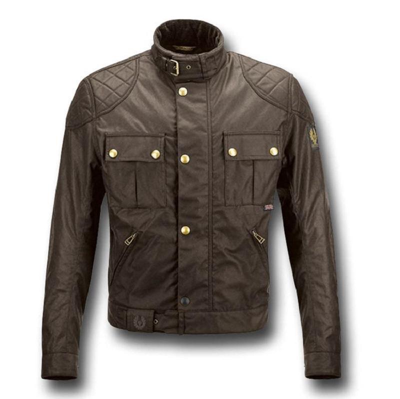Motorcycle Leather Maroon Jacket