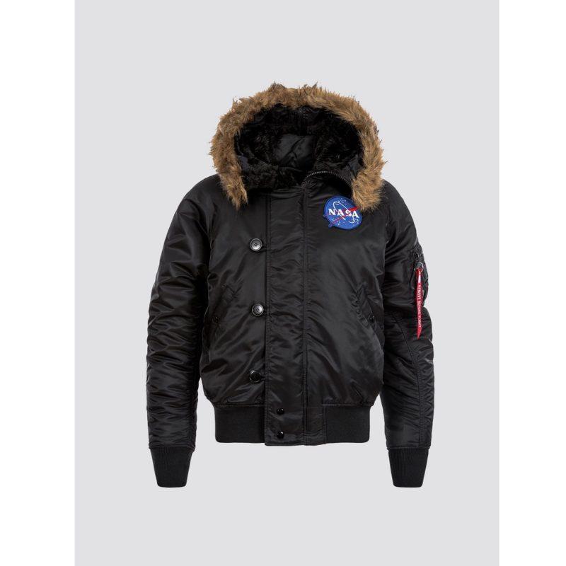 N-2B NASA Black Parka Jacket