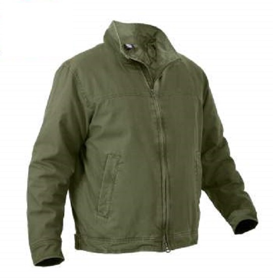Rothco Mens Concealed Carry 3 Season Olive Jacket