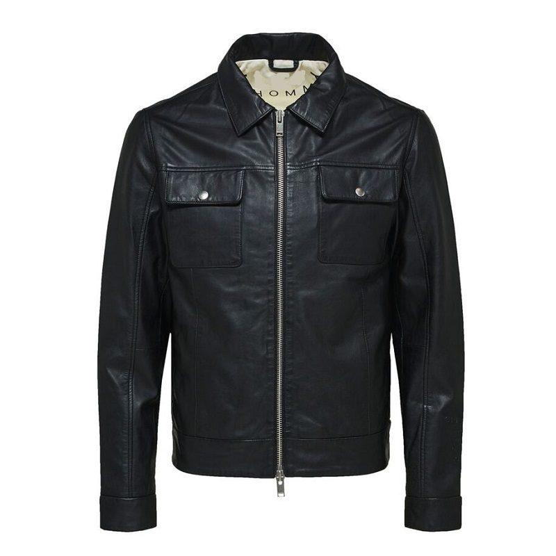 Soft Lamb Leather Biker Jacket