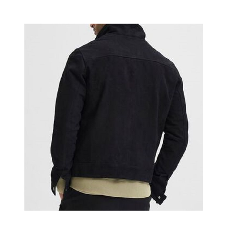 Two Way Zip Suede Jackets-
