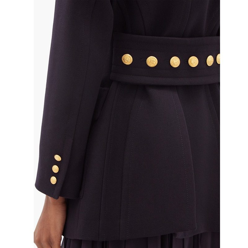 Valentino Double breasted wool coat-