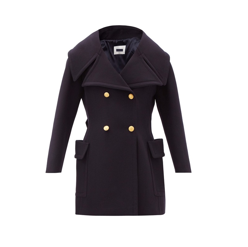 Valentino Double breasted wool coat