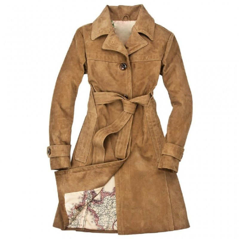 Womens-Amelia-Brown-Trench-Coat