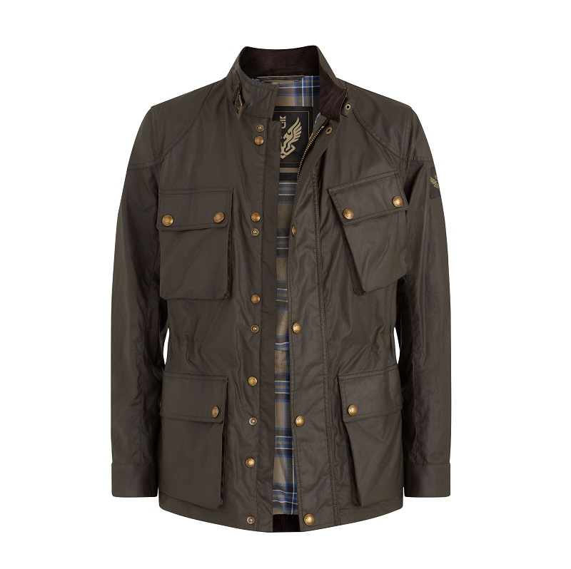 FIELDMASTER WAXED COTTON Airforce Faded Olive JACKET