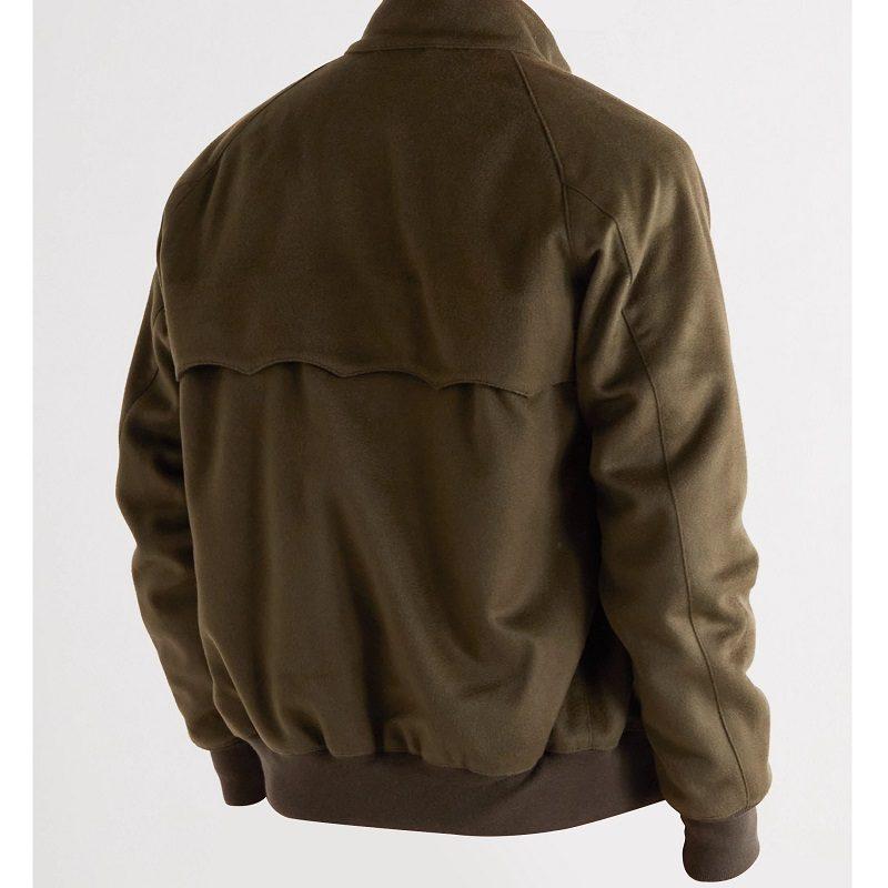 G9 Harrington Slim-Fit Wool & Cashmere-Blend Jacket
