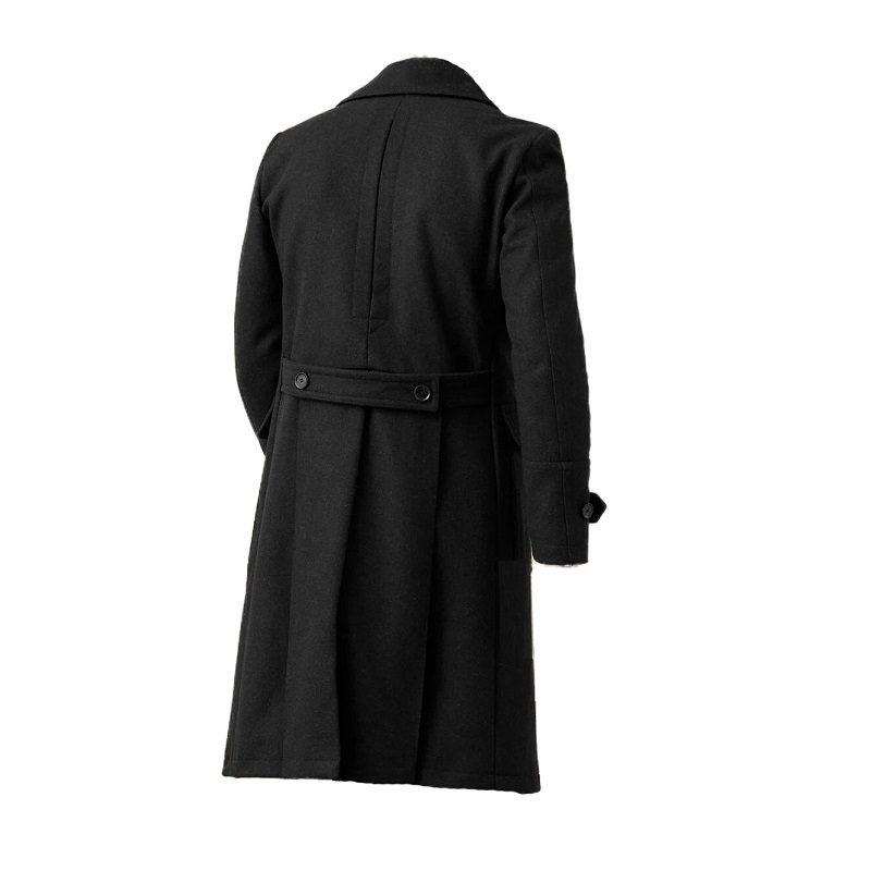 Men's Milford Black Pea Coat-
