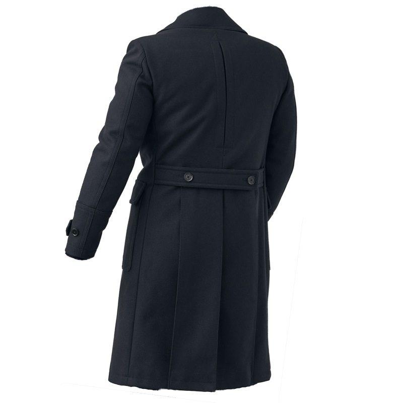 Men's Milford Blue Pea Coat