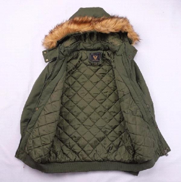 Men's N2B Parka Flight Hooded Jacket –