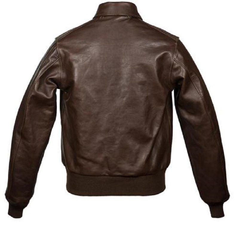 Men's USAAF A-2 Leather Jacket-