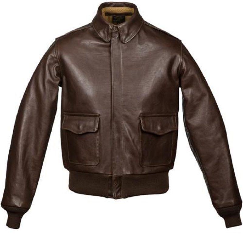 Men's USAAF A-2 Leather Jacket
