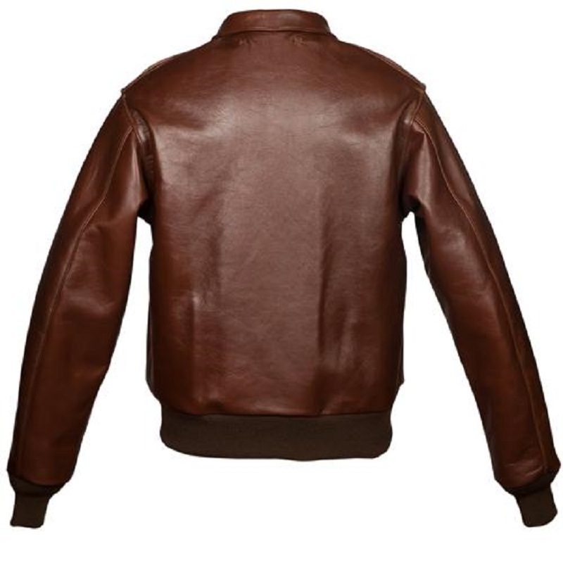 Military Horsehide Leather A-2 Bomber-