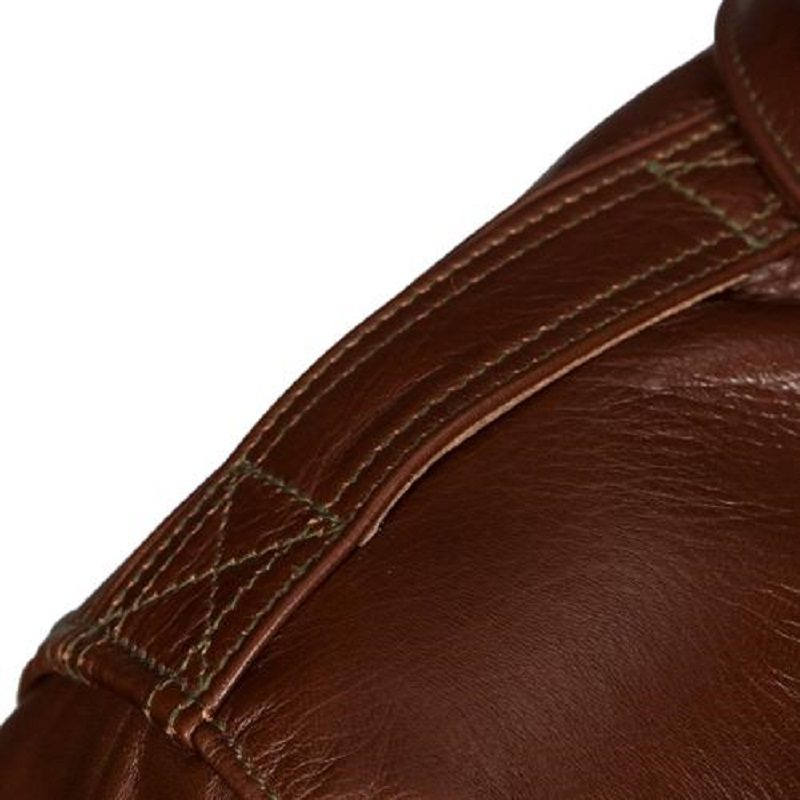 Military Horsehide Leather A-2 Bomber Jacket