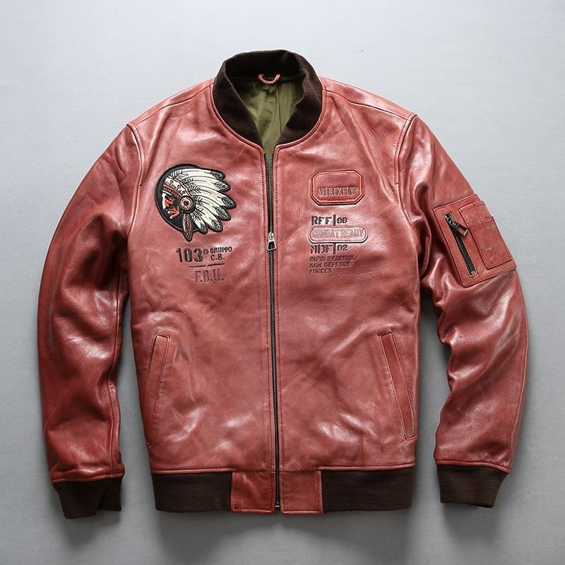AIR FORCE A1 PILOT RED JACKET