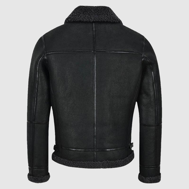 B3 Air Force Black Shearling Jacket