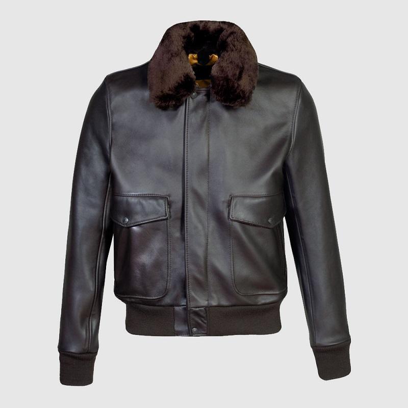 Black Slim Fit Bomber Jacket