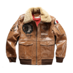 Genuine Leather Air Force Pilot Jacket
