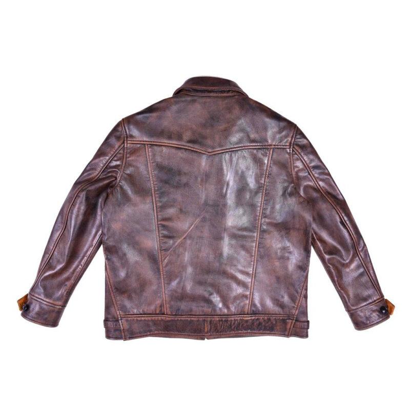 Goatskin Leather Ranch Jacket
