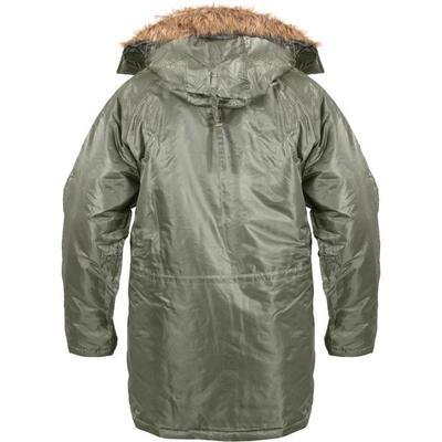 N-3B Sage Green Parka Jacket2
