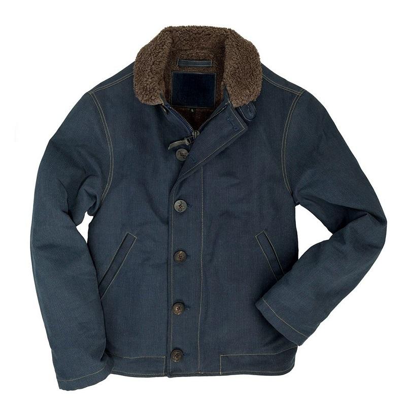 N1 Navy Denim Jacket