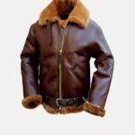 Raf B3 Bomber Leather Jacket