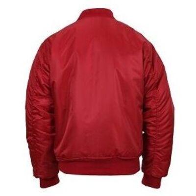 Red MA-1 Flight Jacket